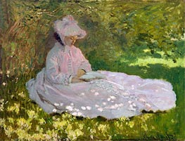 Springtime (The Reader) | Monet | veraltet