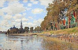 Zaandam, Holland | Monet | Gemälde Reproduktion