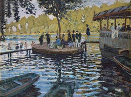 La Grenouillere, 1869 by Monet | Painting Reproduction