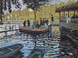 La Grenouillere | Monet | Gemälde Reproduktion