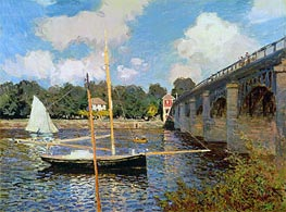 The Bridge at Argenteuil | Monet | Gemälde Reproduktion