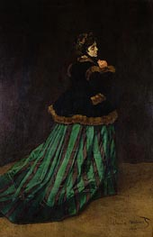 Camille (The Woman in the Green Dress) | Monet | veraltet