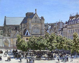 Saint Germain l'Auxerrois | Monet | veraltet