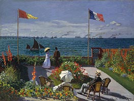 Garden at Sainte Adresse | Monet | veraltet