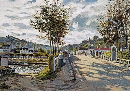 The Seine at Bougival | Monet | veraltet