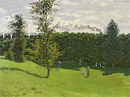 Train in the Countryside | Monet | veraltet