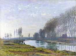 The Petit Bras of the Seine at Argenteuil | Monet | veraltet