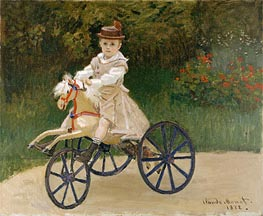 Jean Monet on His Horse Tricycle | Monet | veraltet