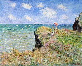 Cliff Walk at Pourville | Monet | veraltet