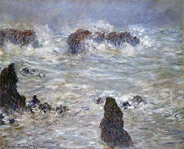 Storm at Belle-Ile | Monet | veraltet