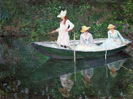 The Boat at Giverny (In the 'Norvegienne') | Monet | veraltet