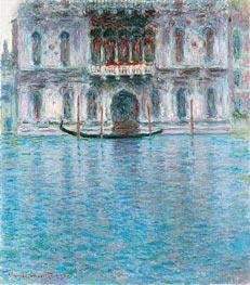 Palazzo Contarini, Venedig, 1908 von Monet | Gemälde-Reproduktion