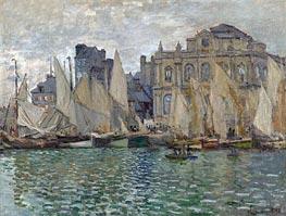 The Museum at Le Havre, 1873 von Monet | Gemälde-Reproduktion