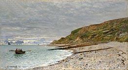 La Pointe de la Heve, Sainte-Adresse, 1864 von Monet | Gemälde-Reproduktion