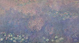 Nympheas (The Two Willows) Part 2 | Monet | Painting Reproduction