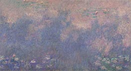 Nympheas (The Two Willows) Part 3 | Monet | Painting Reproduction