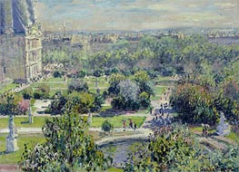 The Tuileries | Monet | Painting Reproduction