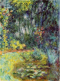 The Water Liliy Pond | Monet | Painting Reproduction