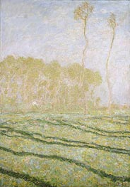 Spring Countryside at Giverny | Monet | Painting Reproduction