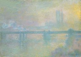 Charing Cross Bridge, London | Monet | Painting Reproduction