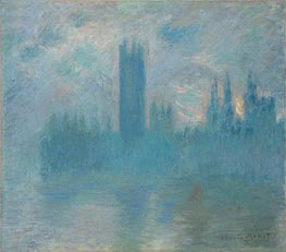 Houses of Parliament, London | Monet | outdated