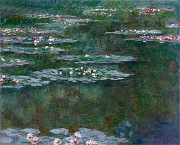 Nympheas (Water Lilies) | Monet | Gemälde Reproduktion
