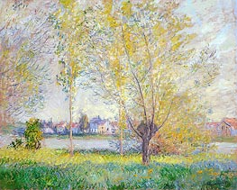 Willows at Vetheuil | Monet | veraltet