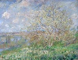 Spring, 1882 by Monet | Painting Reproduction