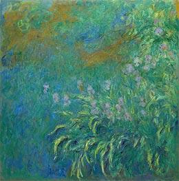 Schwertlilien | Monet | Gemälde Reproduktion