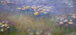 Water Lilies, c.1915-26 by Monet | Painting Reproduction