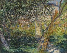 The Garden of Vétheuil | Monet | Painting Reproduction