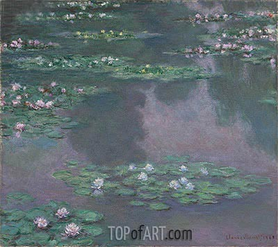Monet | Water Lilies I, 1905