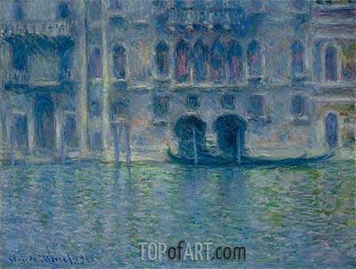 Monet | Palazzo da Mula, Venice, 1908