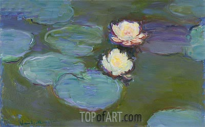 Water Lilies, c.1897/98 | Monet| Painting Reproduction