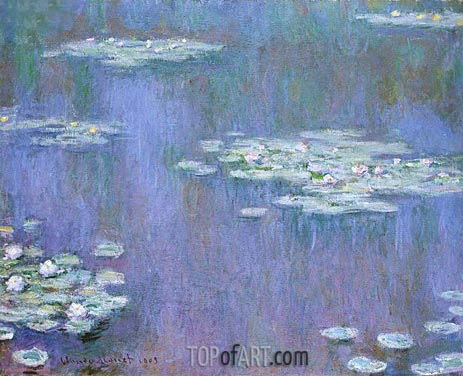Water Lilies, 1905 | Monet | Painting Reproduction