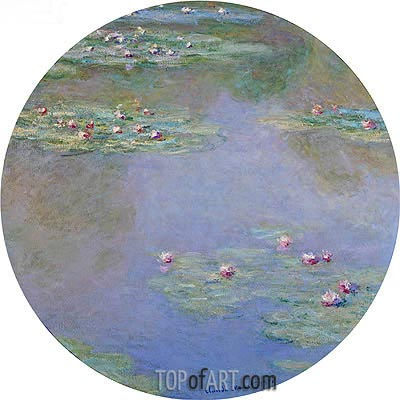 Water Lilies, 1907 | Monet | Painting Reproduction