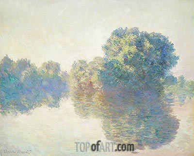The Seine at Giverny, 1897 | Monet| Painting Reproduction