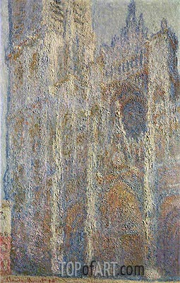 Rouen Cathedral at Midday, 1894 | Monet| Painting Reproduction