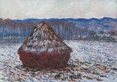 Stack of Wheat, 1891 | Monet | Gemälde Reproduktion