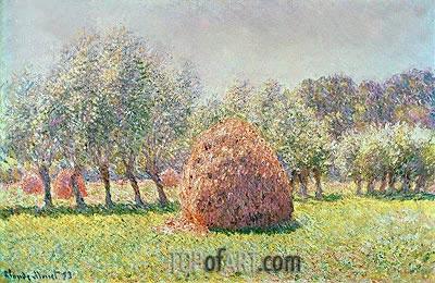 Haystacks, 1893 | Monet | Gemälde Reproduktion
