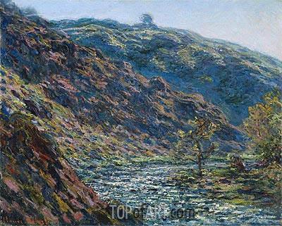 Valley Of The Petite Creuse, 1889 | Monet | Gemälde Reproduktion