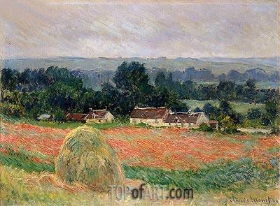 Monet | Haystack at Giverny, 1886