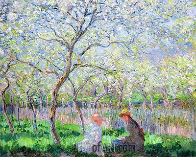 Springtime, 1886 | Monet| Painting Reproduction