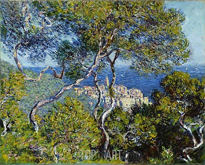 Bordighera, 1884 | Monet | Painting Reproduction