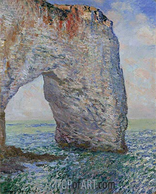 The Manneporte near Etretat, 1886 | Monet | Painting Reproduction