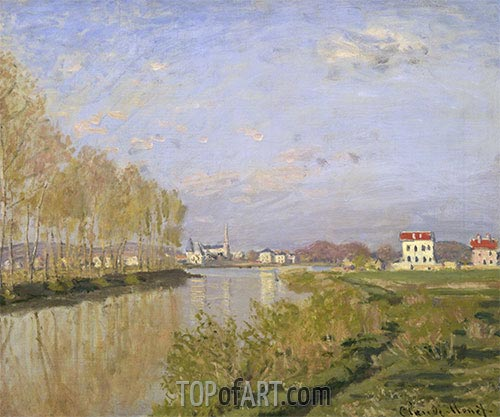 The Seine at Argenteuil, 1873 | Monet | Painting Reproduction