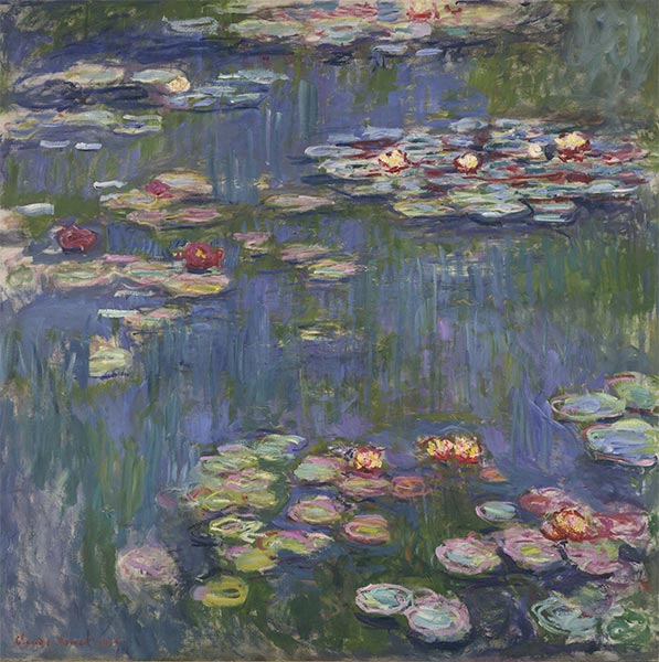 Water Lilies, 1916 | Monet| Painting Reproduction