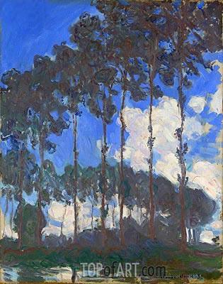 Monet | Poplars on the Epte, 1891