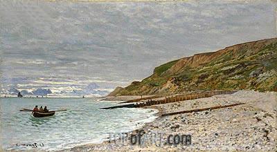 Monet | La Pointe de la Heve, Sainte-Adresse, 1864