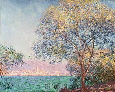 Morning at Antibes, 1888 | Monet | Painting Reproduction